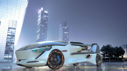 Mașina zburătoare pe care ai putea-o conduce până în 2030