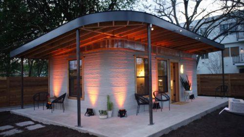 Prima casă din ciment imprimată 3D vrea să rezolve problemele lumii
