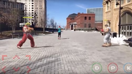 street fighter arkit