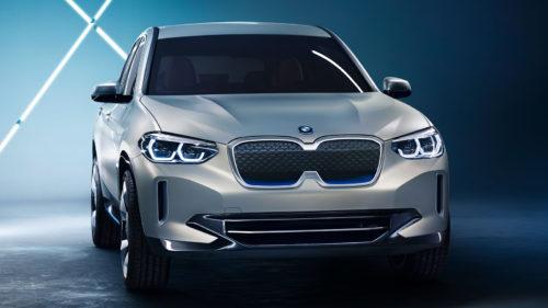 BMW prezintă iX3 Concept, primul SUV 100% electric din istorie