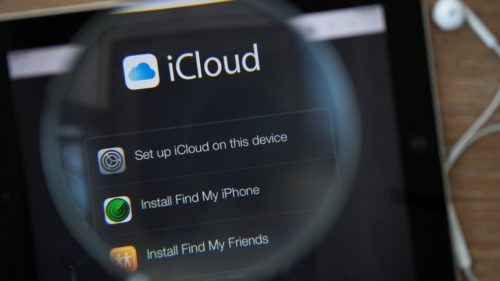 Apple iCloud data download