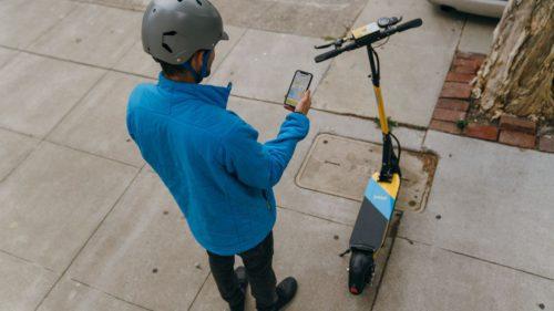 trotineta electrica bicicleta skip aplicatie