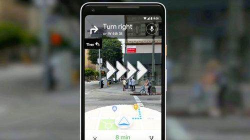 Google îți propune o soluție de navigație futuristă cu realitate augmentată