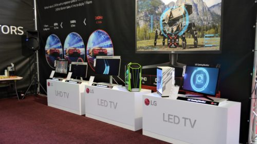 lg monitoare gaming east european comic con 2018