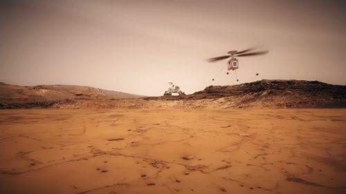 NASA trimite un elicopter pe Marte pentru o ședință foto