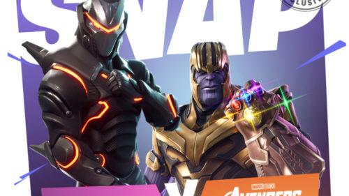 Din Avengers Infinity War, Thanos ajunge în Fortnite