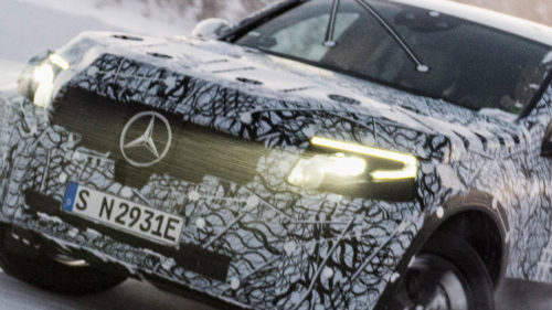 Mercedes electric: Noi imagini oficiale cu SUV-ul pe care îl vom vedea în 2019