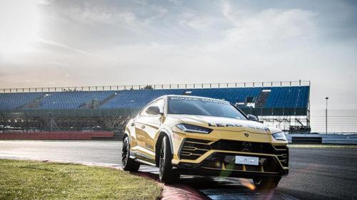 Cum se vede Lamborghini Urus pe circuit și câți români au cumpărat unul
