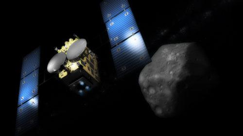 Primele imagini cu un asteroid în formă de cub