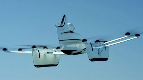 Cofondatorul Google vrea să te plimbe cu o mașină zburătoare