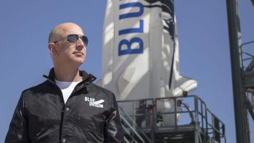 Șeful Amazon vrea să-ți faci vacanțele în spațiu. Cât te-ar costa