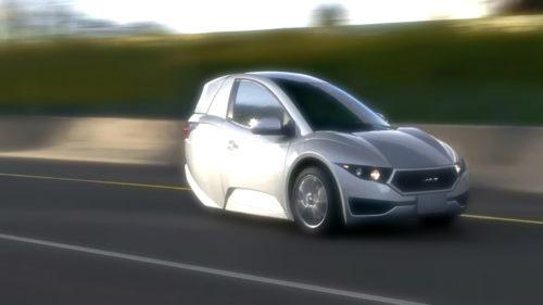 Mașina electrică cu trei roți te-ar putea scăpa de stres în București