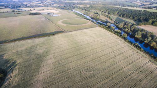 O dronă a dezvăluit indicii importante despre un monument antic