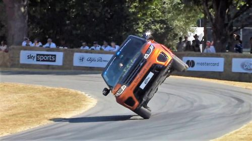 Range Rover a înregistrat cel mai tare (și mai inutil) record