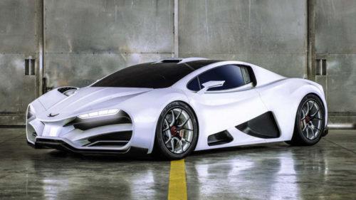 FOTO Mașina superbă care face de râs chiar și un Bugatti