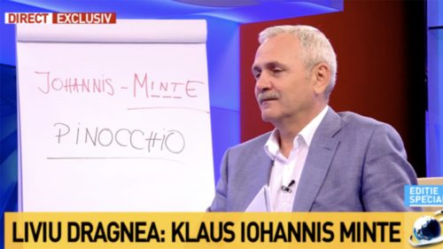 """Ce a vrut Dragnea să spună cu mesajul """"Johannis M___E"""""""