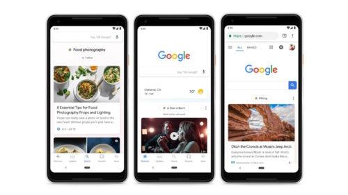 Google Discover încearcă să ghiceasă mai bine ce vrei să vezi pe internet