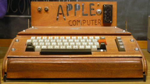 Suma uriașă cu care a fost cumpărat primul computer Apple în 2018