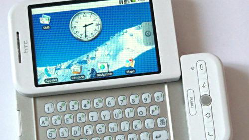Primul smartphone cu Android a pornit revoluția telefoanelor inteligente