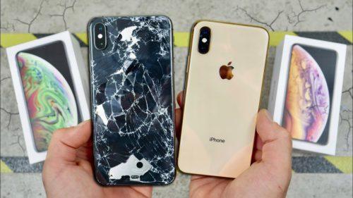 iPhone Xs și Xs Max date de pământ: cât de bine rezistă prețioasele telefoane
