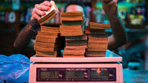 Cum a ajuns Venezuela în situația absurdă când banii nu înseamnă nimic