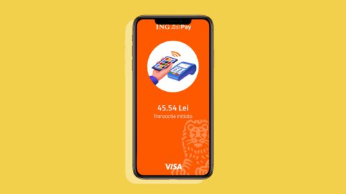 Câți români plătesc cu telefonul prin ING Pay, după jumătate de an