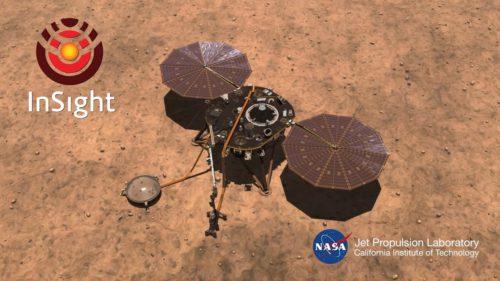 A aterizat cu succes pe Marte: Cum arată prima fotografie făcută de InSight