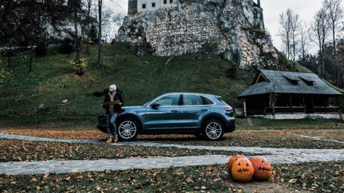 VIDEO Noul Porsche, la Dracula. Cum apare România într-un clip deosebit