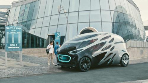 Mercedes revoluționează mașinile cu vehiculul la care doar roțile contează