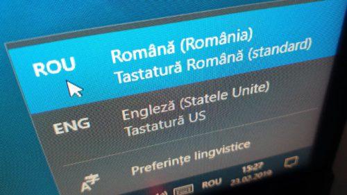 Cum scrii în română pe Windows 10, după ce activezi diacriticele