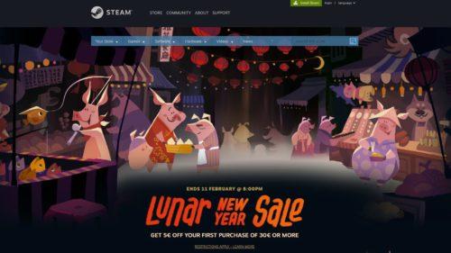 Steam sărbătorește Anul Nou Chinezesc cu reduceri bune la zeci de jocuri