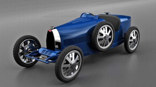 """Bugatti a lansat o mini mașină electrică: cât costă bolidul pentru copiii """"putred"""" de bogați"""