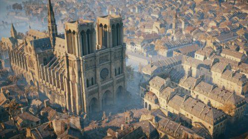 Jocul video ce va fi folosit pentru reconstrucția catedralei Notre Dame